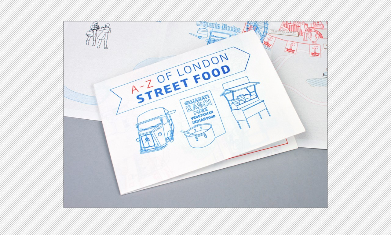 KATE HYDE Walking the Page / An A-Z of London Street Food